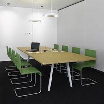Mesa de conferencia moderna / de madera / rectangular / de Ronan & Erwan Bouroullec