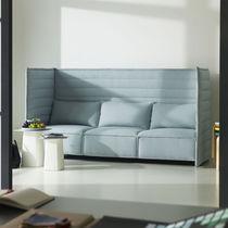Sofá moderno / de tejido / para edificio público / para oficina abierta