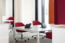 Mesa de trabajo moderna / de madera / rectangular / profesional