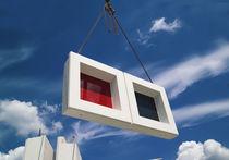 Panel de vidrio de seguridad / de seguridad / para fachada / coloreado