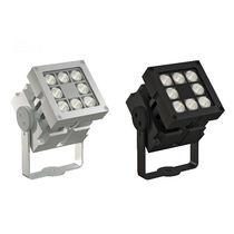 Foco montado en superficie / de exterior / LED / cuadrado