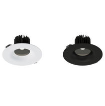 Downlight empotrable / LED / redondo / de PC