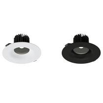 Downlight empotrable / LED / redondo