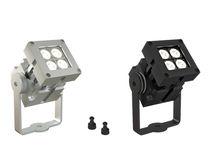 Aplique moderno / de exterior / de metal / LED