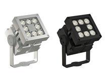 Aplique moderno / de aluminio / LED / cuadrado