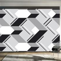 Papeles pintados modernos / de tela / con motivos geométricos / impresos