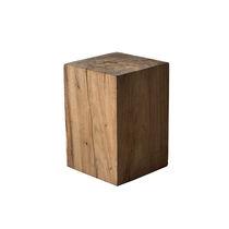 Taburete moderno / de madera maciza / de jardín
