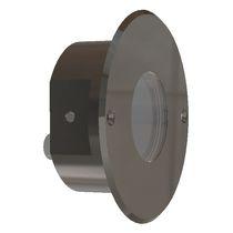 Aplique moderno / de exterior / de acero inoxidable / LED