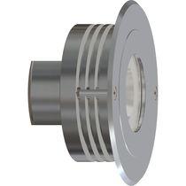 Aplique moderno / de exterior / de aluminio anodizado / LED