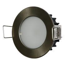 Downlight empotrable / para exterior / LED / redondo