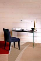 Silla de comedor moderna / tapizada / de haya