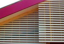 Celosía con lamas de aglomerado / para fachada