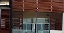 Ventanal corredero / de aluminio / con vidrio doble