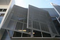 Celosía con lamas de aluminio / para fachada