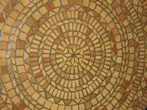 Mosaico de interior / para suelo / de terracota / pulido