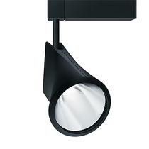 Iluminación sobre riel LED / redonda / de aluminio fundido / para comercio