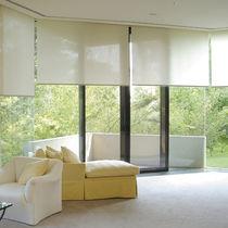 Tela para protección solar / para estor enrollable / de color liso / revestimiento de PVC