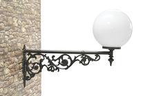 Aplique clásico / de exterior / de hierro fundido / LED
