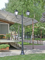 Farola urbana / clásica / de hierro fundido / LED