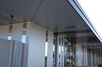 Revestimiento de fachada de metal / ranurado / en láminas