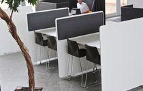 Separador para oficina en encimera / de tejido / laminado