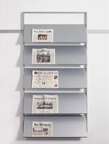 Expositor de pared / para folletos / de metal / para oficina