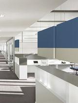 Panel acústico para revestimiento interior / de poliuretano / de doble cara / para oficina