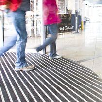 Alfombra de entrada para edificio público / de aluminio / de poliamida / antisuciedad