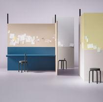 Revestimiento de pared de linóleo / profesional / coloreado / para interior