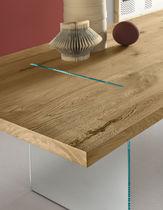 Mesa de comedor / rectangular / de interior / interior