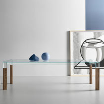Mesa de comedor / rectangular / de interior / moderna