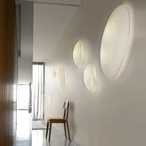 Aplique moderno / de papel / fluorescente compacta / ovalado