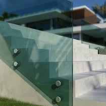 Sistema de fijación de aluminio anodizado / para paneles
