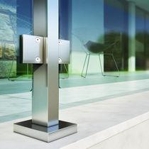 Sistema de fijación de aluminio anodizado / para balcón