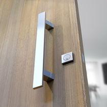 Tirador de puerta para puerta / de aluminio anodizado / moderno
