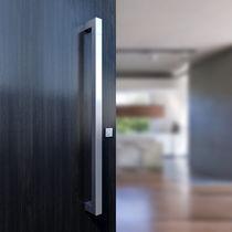Tirador de puerta de acero inoxidable / moderno