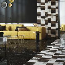 Baldosa de suelo / de pared / de mármol / con motivos geométricos