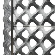 Panel decorativo / de metal / de mármol / para revestimiento interior