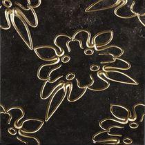 Baldosa de pared / de mármol / con motivos florales / con motivos de la naturaleza