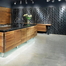Fachaleta de piedra natural / de mármol / interior / 3D