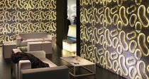 Baldosa de pared / de mármol / con motivos / 3D