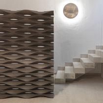 Biombo de diseño original / de mármol / de piedra natural / para oficina abierta