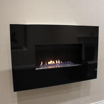 Chimenea de gas / moderna / de diseño original / hogar abierto