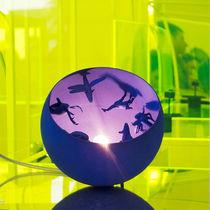 Lámpara de mesa / de diseño original / de interior