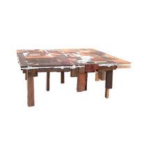 Mesa de diseño original / de madera / rectangular / de interior