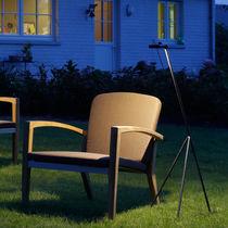 Lámpara de pie / moderna / de latón / de interior