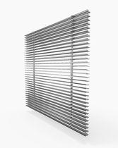 Rejilla de ventilación de aluminio / rectangular / lineal / de recubrimiento
