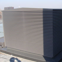Salida de ventilación de aluminio