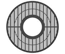 Cubrealcorques de metal / redondo