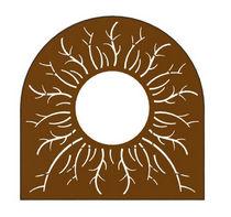 Cubrealcorques de acero COR-TEN® / otras formas
